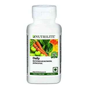 Amway Nutrilite Daily Multivitamin and Multimineral Tablets – 120 Tabs