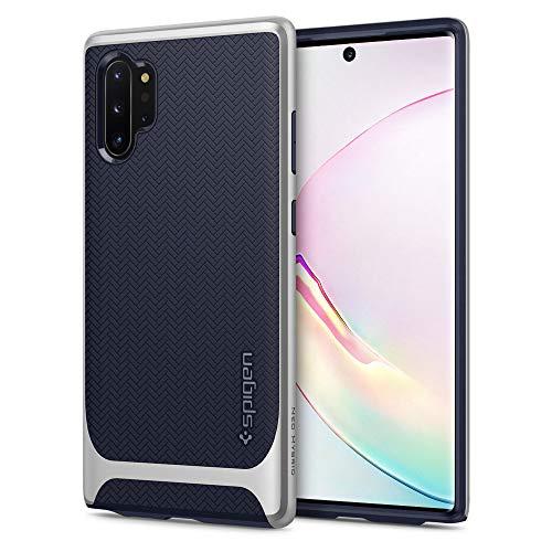 Spigen Neo Hybrid Designed for Samsung Galaxy Note 10 Plus Case/Galaxy Note 10 Plus 5G Case (2019) - Arctic Silver (Best Rugged Flip Phone 2019)