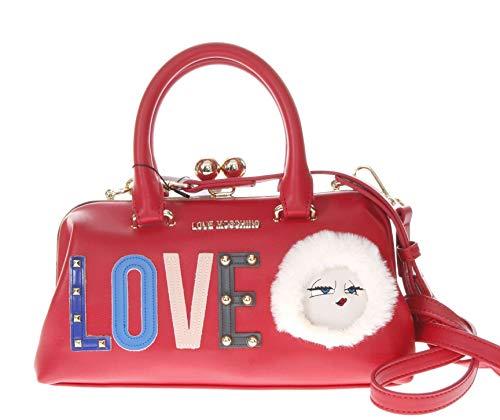 Borsa Rosso a Moschino Donna mano Love 1U5Xq8