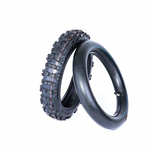 14 inch rear knobby tire and tube BIGFOOT Pit/Trail/Dirt Bike, 90/100-14, 14