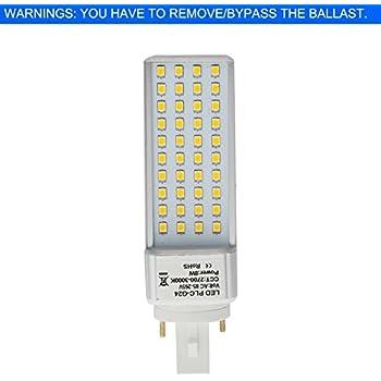 Bonlux G24 Led Pl Retrofit Lamp Universal G24d 2 Pin G24q