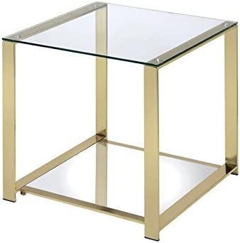 Furniture of America Richellio Square End Table