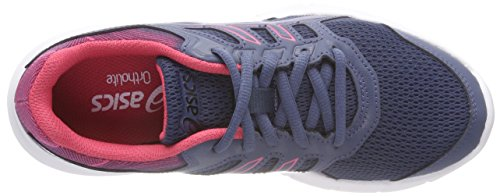 Asics Women's Gel-Excite 5 Running Shoes Multicolor (Smoke Bluesmoke Blue Hot Pink) 4JZlyyTlxG