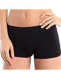Changeshopping Women Yoga Sports Gym Workout Waistband Skinny Shorts Pants