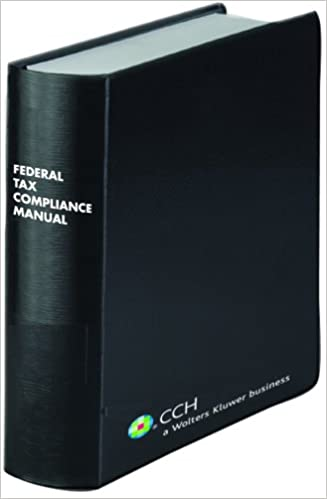 Amazon federal tax compliance manual 20082 volume set federal tax compliance manual 20082 volume set 2008th edition fandeluxe Images