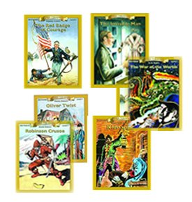 (Classic Novel Workbooks (Bring the Classics to Life -Level 3)- Seven books with 3rd grade readability)