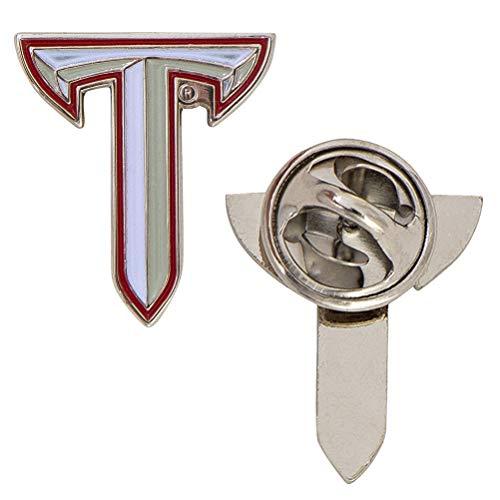 Troy University Logo Lapel Pin Enamel Made of Metal (Lapel Pin)