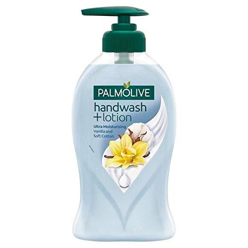 危機熟した精査する[Palmolive ] Palmolive社手洗い+ローションバニラ&ソフトなコットン250ミリリットル - Palmolive Handwash + Lotion Vanilla & Soft Cotton 250ml [並行輸入品]