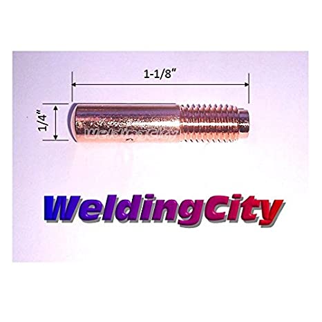 0.035 WeldingCity 10-pk MIG Welding Contact Tip 000-068 for Miller Millermatic M-10 M-15 M-25 M-40 M-100 M-150 Hobart H-9 H-10 MIG Guns