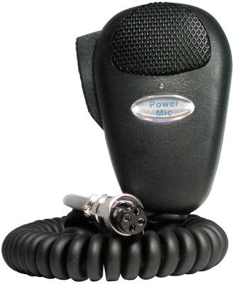 CB Amplified Loud Power Microphone For 4 Pin CB Radios by Barjan