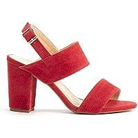 Sandália em Acamurçado Vermelho