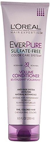 - L'Oreal Paris EverPure Sulfate-Free Color Care System Volume Conditioner, 8.5 Fluid Ounce
