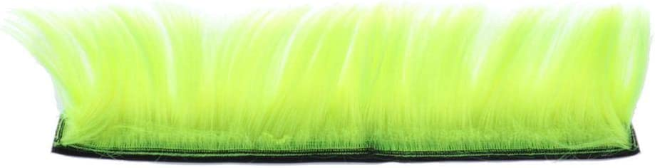 Yellow//Green//Orange Emerald Green B Baosity Racing Helmet Hawks Motorcycle Ski or Snowboard Helmets Mohawk Hair Patches