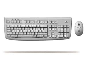 Teclado y Raton Inalambrico Logitech Deluxe 650 Blanco Acceso directo correo e internet
