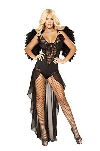 Angel of Darkness Costume Black Large]()