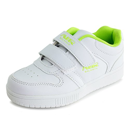 air-balance-girls-2-tone-color-velcro-closure-walking-shoes-sneakers-white-green-i-7-m-us-toddler