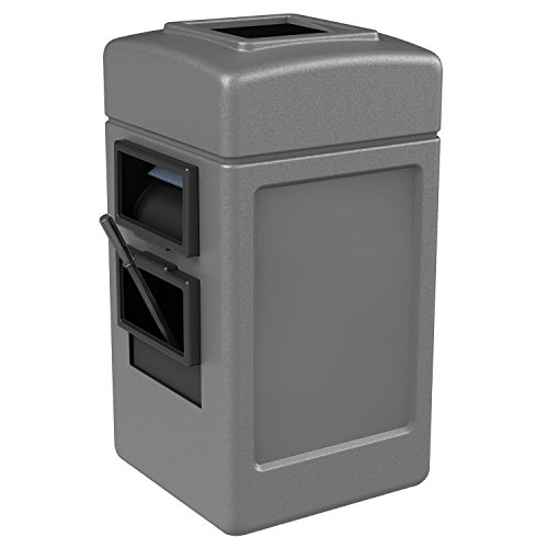Waste Windshield - Commercial Zone Waste/Windshield Convenience Center, Gray