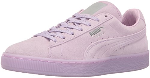 PUMA Women's Suede Classic Mono Ref Iced Wn's Fashion Sneaker, Orchid Bloom-Puma Si, 7 M US