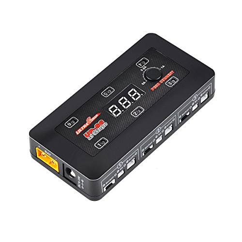 UP-S6 1S LiPo Battery Charger LiPo/LiHV Charger for Blade Inductrix Tiny Whoop mCX mCPX Micro Losi Connector