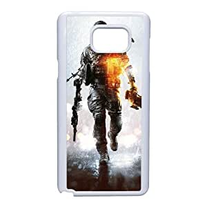 Samsung Galaxy Note 5 Cell Phone Case White Battlefield SF8618955