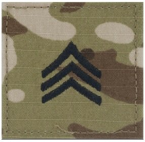 (KM Outfitters® (RANK Multicam SGT) Patch)