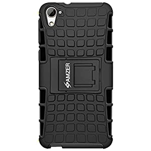 AMZER Case Skin for HTC Desire 826 - Retail Packaging - Black