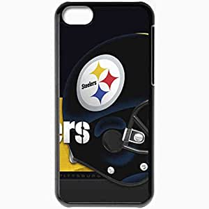 Personalized iPhone 5C Cell phone Case/Cover Skin 1086 pittsburgh steelers Black