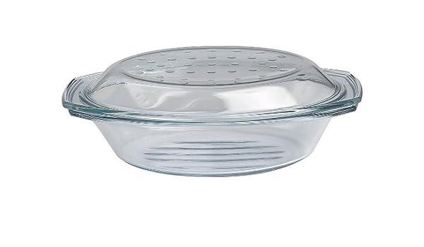 Drop y parrilla asador - molde para horno/fuente con tapa de ...