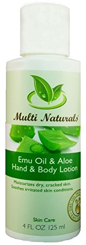 And Multi Body Hydrating Hand Lotion (Emu Oil Hand & Body Lotion with Aloe Vera, Comfrey & skin-nourishing Essential oils - Moisturizing, Non-greasy Lotion for Hands & Body from Multi Naturals (4oz) BUY 1 GET 1 FREE)