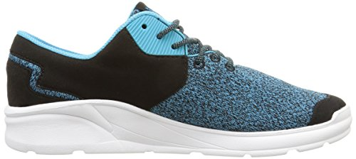 Supra Noiz, Unisex Adults' Low-Top Sneakers Black (Black/Blue Atoll/White)