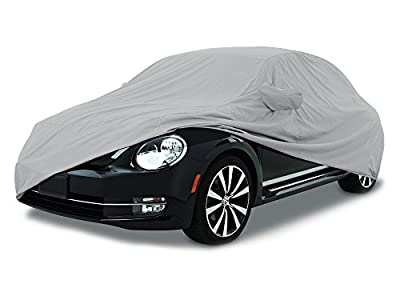 CarsCover Custom Fit 2011-2018 Volkswagen Beetle Car Cover for 5 Layer Ultrashield Waterproof VW Beetle