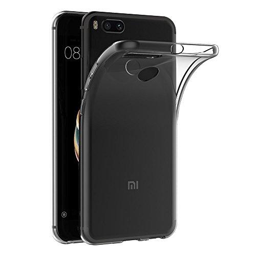 MaiJin Funda para Xiaomi Mi 5X / A1 (5,5 Pulgadas) Resistente a arañazos TPU Cubierta de Delgada Capa de Silicona en la...