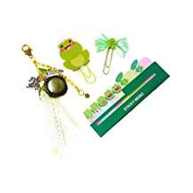 The Frog Prince Inspired Planner Paper Clip, Planner Tassel, and Sticky Memo | Planner Page Marker | Planner Accessory ONE (1) Set