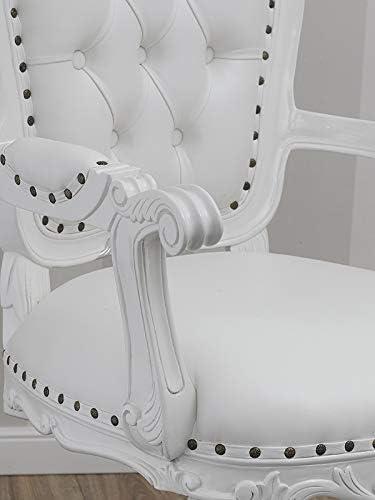 Chaise de bureau pivotante Susan style Anglais ministériel