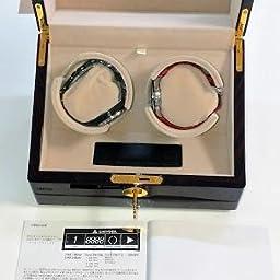 Amazon Co Jp 意匠権取得済み Chiyoda ワインディングマシーン ピアノ鏡面仕上げのウォッチワインダー 日本製マブチモーター搭載 計12種類の回転モード 1本巻き 腕時計自動巻き器 超静音 腕時計
