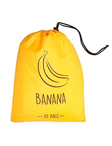 Banana Storage Bag - Reusable Banana Storage Bag Keep it Longer Up To 2 Weeks Stop Food Waste