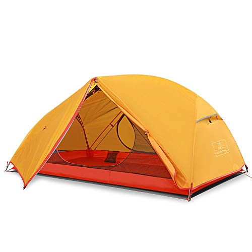 HOMESTAR Camping Tent 1-2 Person, Ultralight Backpacking Tent For Camping, 4 Seasons Tent Waterproof