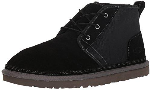 ined Chukka Boot, Black, 10 M US ()