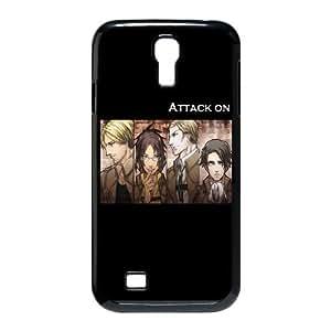 Attack On Titan Samsung Galaxy S4 9500 Cell Phone Case Black DIY Ornaments xxy002-9155902