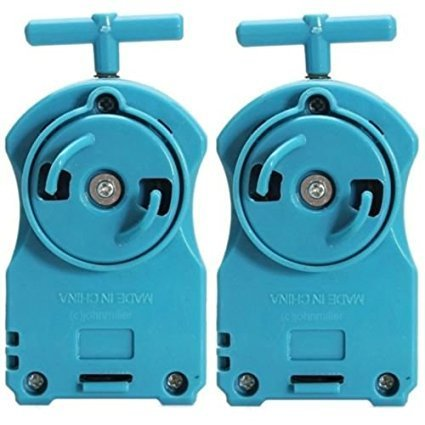 2x Blue Power String Launchers Rippers Right Spin BB-110