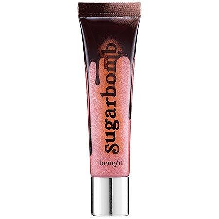 Benefit Cosmetics Sugarbomb Ультра плюшевые Мерцающий Pinky Обнаженная Блеск для губ 0,5 жидких унций