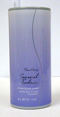 (Avon Far Away Sensual Embrace Shimmering Body Powder 1.4 Oz ( Pack of 2 ))