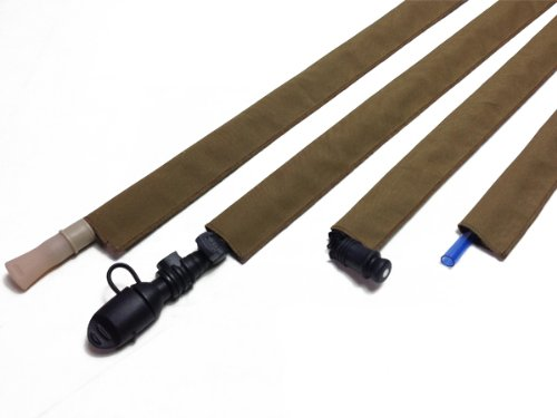 Coyote Brown Hydration Tactical Pack Drink Tube Cover - Tube Hydration Cover