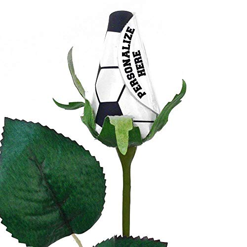 Amazoncom Personalized Soccer Rose Handmade
