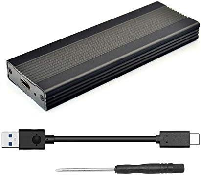 Romsion Electronics NVME M.2 Enclosure Type-C 3.1 Mobile HDD Box HDD Case Type C 3.1 ASM2362 m.2 USB3.1 PCIE SSD PCI-E TYPEC SSD Case Black