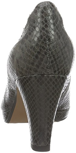 Clarks Damen Chorus Chic Pumps Grau (Taupe Snake Leather)
