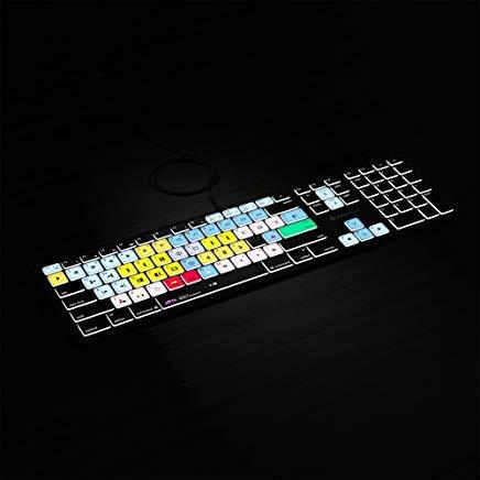 Avid Media Composer Keyboard | Backlit Keyboard for Mac MacOS | Editors Keys Shortcut Keyboard