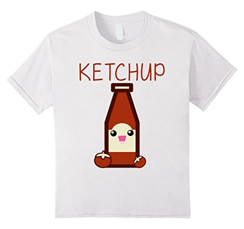 Kids I'm A Ketchup T-shirt Family Matching Shirts 4 - Girls Spice For Halloween