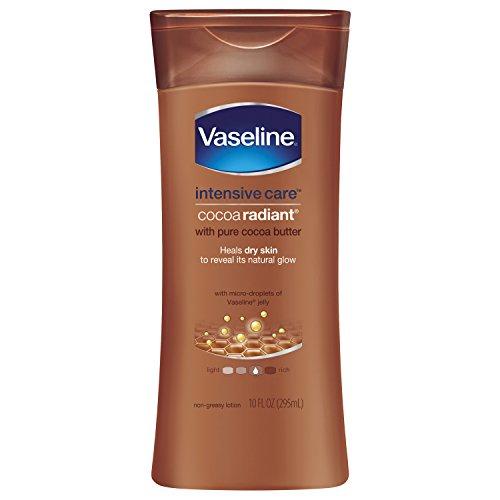 Vaseline Intensive Care Body Lotion, Cocoa Radiant, 10 oz, 4