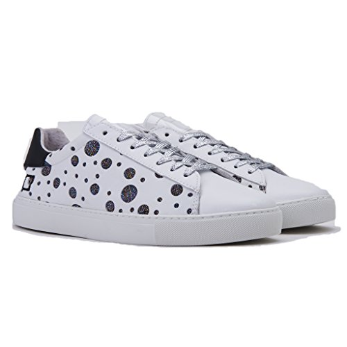 Date Femme Glitter Perforated Newman E D T Sneakers A qxwnY18t